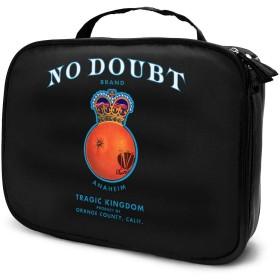 化粧ボックス メイクボックス No Doubt Tragic Kingdom Logo 女性 ビューティー 収納ケース 洗面用品入れ 機能的 大容量 大人気 上質 ベーシック 便利 ダブルファスナー 化粧品収納 手触り 長持ち 防水 耐衝撃 日常 旅行 ギフト