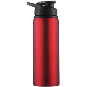 A69Qスポーツボトル ウォーターボトル 給水ボトル 携帯ポット スポーツウォーターボトル スポーツ水筒 ボトル 水筒 BPAフリー アウトドアボトル 大人 子供 男女兼用 携帯便利 軽量 耐冷 耐熱 無毒 無臭 アウトドア スポーツ 登山用ボトル 700ML (レッド)