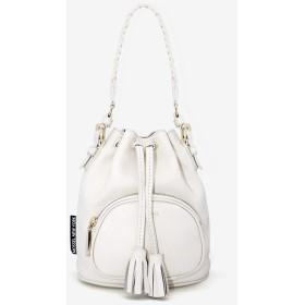 DOROTHY MINI BUCKET BAG (WHITE)