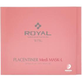WIW ROYAL プラセンティナー メディマスクール フェイスマスク 美容液25ml入1枚×5袋