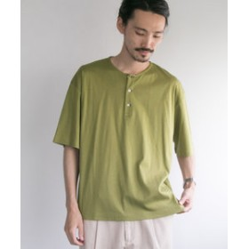 【URBAN RESEARCH:トップス】SMOOTH HENLEY OVER T-SHIRTS