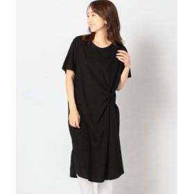 (MEW'S REFINED CLOTHES/ミューズ リファインド クローズ)前ねじりカットワンピース/レディース クロ