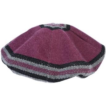《期間限定セール開催中!》GIORGIO ARMANI レディース 帽子 グレー one size カシミヤ 60% / ウール 40%