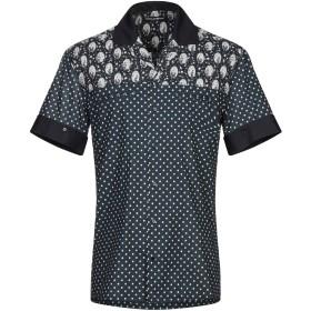 《期間限定セール開催中!》DOLCE & GABBANA メンズ シャツ ダークブルー 38 コットン 100%