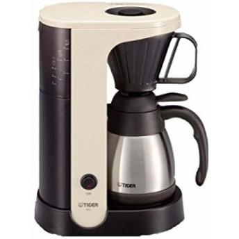 タイガー コーヒーメーカー 4杯用 カフェクリーム ACU-A040-WT(中古品)