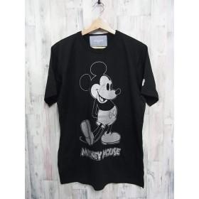 mastermind HOMME × Disney マスターマインドジャパン ディズニー ミッキー Tシャツ サイズS ラメ BSM限定 タグ 715