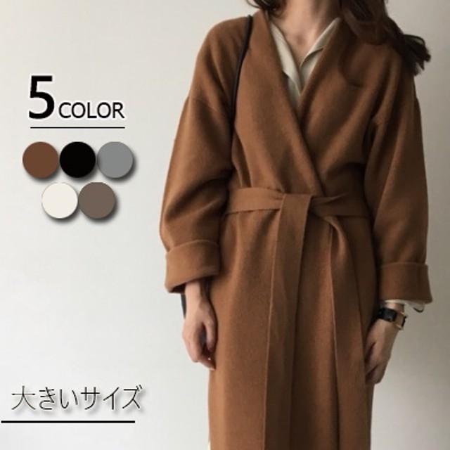 ◆時間限定◆ 秋冬新作のニット大人気 厚手大きいサイズ ニット厚い コート 韓国ファッション ロング コート アウター 長袖
