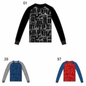 【キャッシュレスでP5%還元】 プーマ ジュニア ACTIVE SPORTS LS グラフィック Tシャツ  PUMA 580702