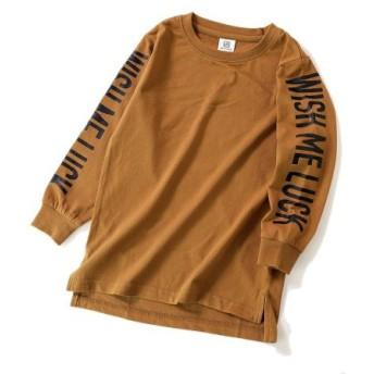 (devirock/デビロック)袖プリント長袖Tシャツ/レディース その他系4