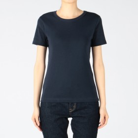 PETIT BATEAU(プチバトー)/クルーネック半袖Tシャツ
