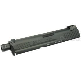 DETONATOR 東京マルイ HK45用 Tacticalタイプ カスタムスライド-ブラック