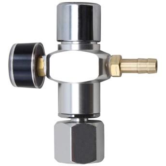 Micro CO2 ミニレギュレーター ケグチャージャー Soda CO2タンク用