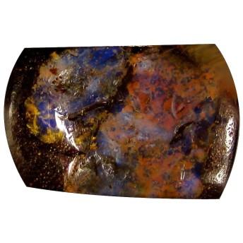 ボルダーオパール ルーズジェームズ 12.64 ct Fancy Shape (20 x 14 mm) Play of Colors Australian Koroit Boulder Opal Natural Gemstone
