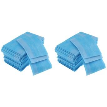 FLAMEER 防水ベッドパッド アンダーパッド 患者 おねしょ 高齢者 介護 漏れ防止 50x50cm 約120個入