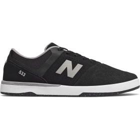[ニューバランス] 靴・シューズ メンズライフスタイル Numeric PJ Ladd 533 Black with Grey ブラック グレー US 6 (24cm) [並行輸入品]