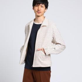 TAKEO KIKUCHI(タケオキクチ:メンズ)/ファブリックライダースブルゾン[ メンズ ライダース ]