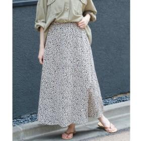 【フレームス レイカズン/frames RAY CASSIN】 ダルメシアンAラインスカート