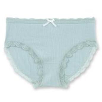 フランデランジェリー(fran de lingerie)Simple Shorts シンプルショーツ コーディネートレーストリミング 【5%OFFクーポン利用可能】【コード:CP34TSW】