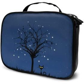 Jarvis SK 月 化粧ポーチ トイレタリーバッグ トラベルポーチ 洗面用具入れ 大容量 機能的 防水 おしゃれ 出張 海外旅行の時小物 収納