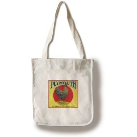 Plymouthオレンジラベル Canvas Tote Bag LANT-1757-TT