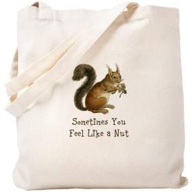 CafePress Nutty Squirrel トートバッグ S ベージュ 0592751143DECC2
