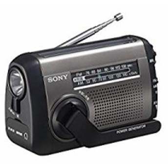 ソニー SONY ポータブルラジオ ICF-B99 : FM/AM/ワイドFM対応 手回し充電/ (中古品)