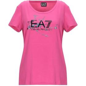 《セール開催中》EA7 レディース T シャツ フューシャ XS コットン 95% / ポリウレタン 5%