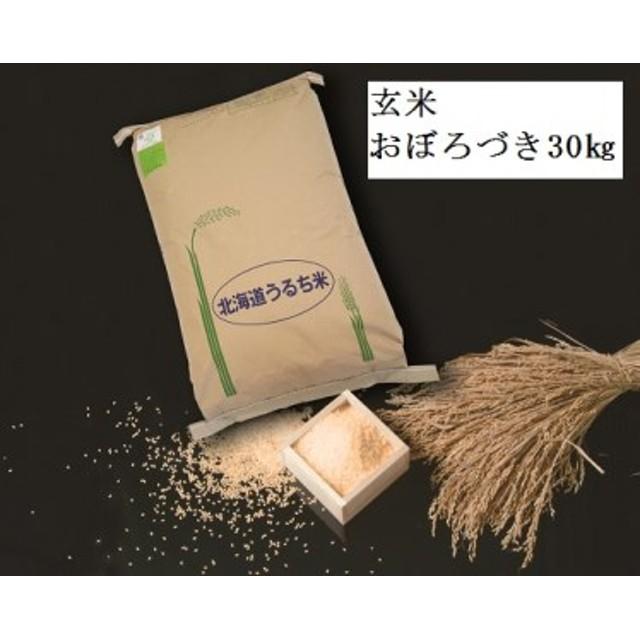 【玄米30㎏】 おぼろづき 低農薬米