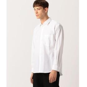 TOMORROWLAND / トゥモローランド Edition フィンクスコットンウェザークロス レギュラーカラーシャツ