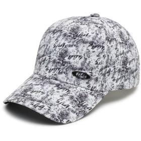 [オークリー] 帽子 LOGO CAP 13.0 メンズ WHITE PRINT 日本 ONE (FREE サイズ)