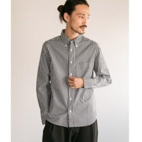 URBAN RESEARCH / アーバンリサーチ MANUAL ALPHABET ギンガムボタンダウンシャツ
