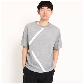 【ザ ショップ ティーケー/THE SHOP TK】 【接触冷感】ラインTシャツ