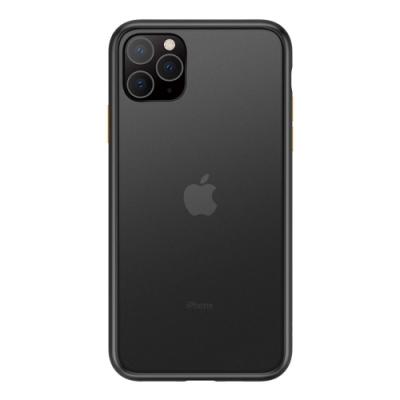 【TOYSELECT】iPhone 11 Pro Max火星盾減震矽膠防摔手機殼:黑黃撞色
