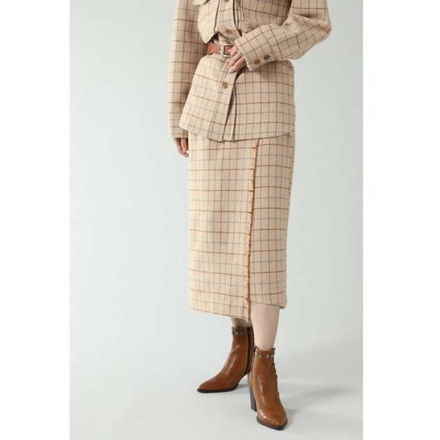 [マルイ]【セール】チェックラインスカート/ローズバッド(ROSE BUD)