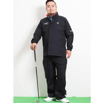 【GRAND-BACK:スポーツ】【大きいサイズ】ルコックスポルティフ ゴルフ/le coq sportif GOLF レインウェア(上下セット)