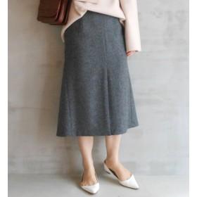 【エリオポール/HELIOPOLE】 ツイード マーメイドスカート
