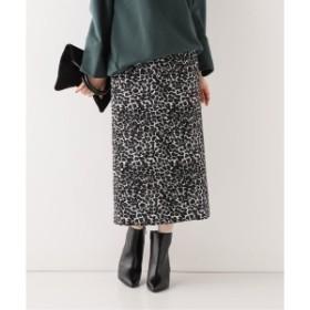 スピック&スパン(Spick & Span)/レディススカート(レオパードタイトスカート)