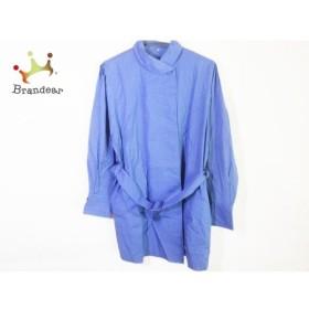 ジュンアシダ JUN ASHIDA コート サイズm M レディース 美品 ブルー 春・秋物   スペシャル特価 20191229