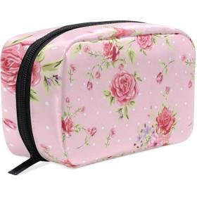 CW-Story 花の型 旅行 バスルームポーチ 大容量 化粧ポーチ 洗面用具入れ 出張 ポーチ 収納バッグ 小物整理 プレゼント