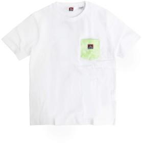 BEN DAVIS Tシャツ 半袖 ベンデイビス Tシャツ タイダイ柄 胸ポケット ベンデイヴィス (XLサイズ, グリーン)