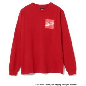 [マルイ] Coca Cola by BEAMS / Have a Coke ロングスリーブ Tシャツ/ビームス(BEAMS)
