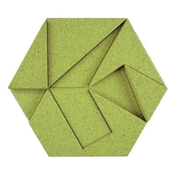 Hexagon有機軟木塊