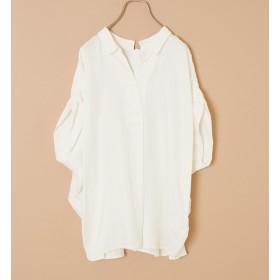 【アルカリ/alcali】 nota della mano sinistra/前後2wayシャツ