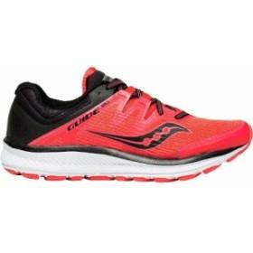 (取寄)サッカニー レディース ガイド Isoランニングシューズ Saucony Women Guide Iso Running Shoe ViZi Red/Black