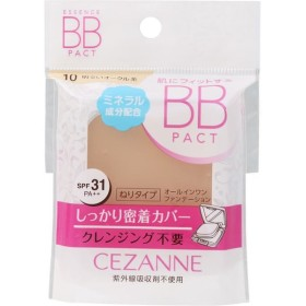 セザンヌ化粧品 エッセンスBBパクト 10  明るいオークル系 替