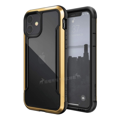 DEFENSE 刀鋒極盾Ⅲ iPhone 11 6.1吋 耐撞擊防摔手機殼(原色金)