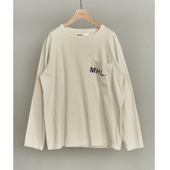 BEAUTY&YOUTH UNITED ARROWS / ビューティ&ユース ユナイテッドアローズ 【別注】 <MHL.> LOGO L/TEE/Tシャツ