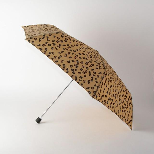 [マルイ] <w.p.c> レオパード 折りたたみ傘/ザステーションストア ユナイテッドアローズ(THE STATION STORE)