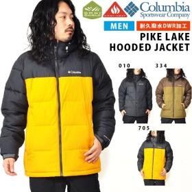 アウトドアジャケット コロンビア Columbia メンズ PIKE LAKE HOODED JACKET 中綿 マウンテンパーカー アウター WE0020 2019秋冬新作 得割10