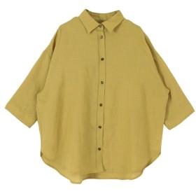 【ティティベイト/titivate】 ドロップショルダーオーバーシャツ